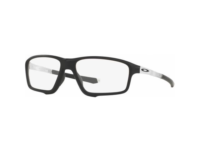 944c844660 ... discount code for oakley ox8076 0358 crosslink zero mens black frame  clear lens eyeglasses nwt 50899