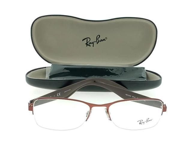 caae40f559 Ray Ban RX6309-2818 Highstreet Unisex Bordeaux Frame Clear Lens Eyeglasses  NWT