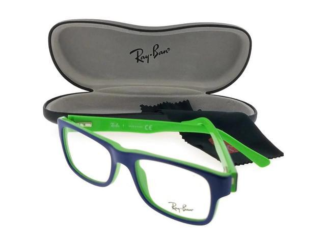dbd1320ea0 Ray Ban RX5268-5182 Youngster Unisex Blue Frame Clear Lens Genuine  Eyeglasses