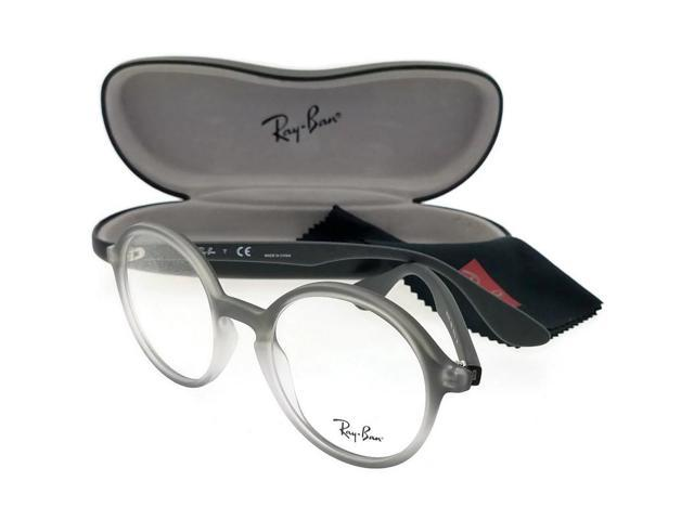 0ced43e2de Ray Ban RX7075-5602 Youngster Unisex Grey Frame Clear Len Genuine Eyeglasses  NWT
