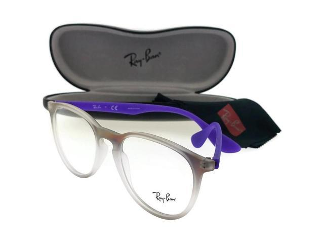 424be02f8e Ray Ban RX7046-5600-51 Erika Unisex Violet Frame Clear Lens Genuine  Eyeglasses