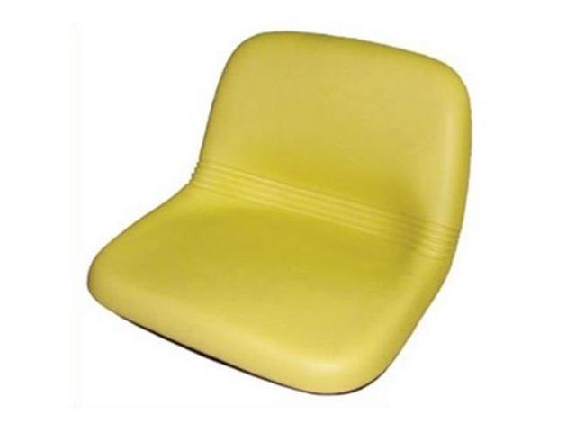 Am115813 Yellow High Back Seat For John Deere Lx188 Lx186