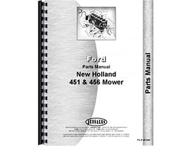 New Holland 451 456 Mower Parts Manual - Newegg com