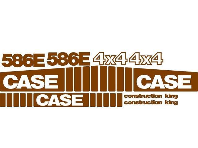Decal Set Made For Case Backhoe 586E Construction King 4x4 - Newegg com