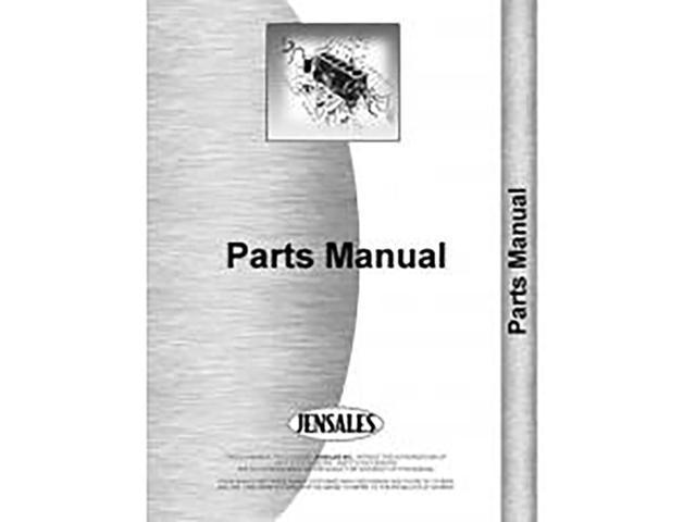 new deutz (allis) d6006 tractor parts manual