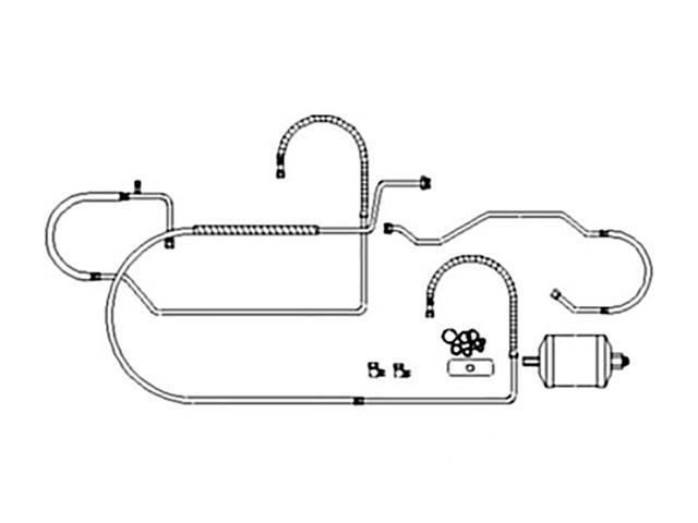 RE62128 AC Retrofit Kit For John Deere JD Tractor R134A 4050 4055 4250 4255  4450 - Newegg com