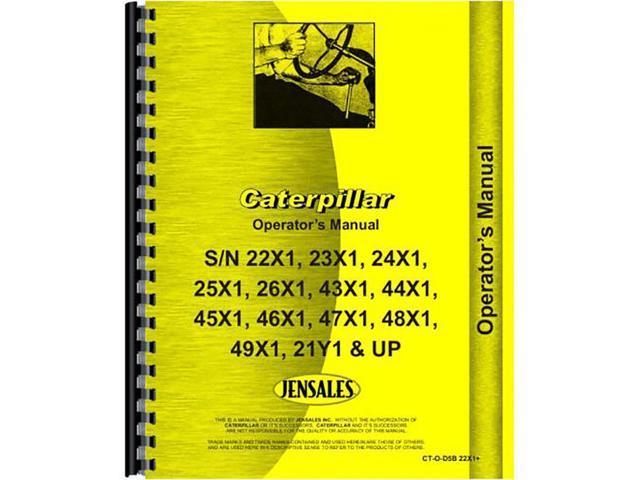 For Caterpillar D5B Tractor Operators Manual (New) - Newegg com