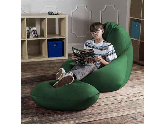 Enjoyable Nimbus Spandex Bean Bag Ottoman Newegg Com Customarchery Wood Chair Design Ideas Customarcherynet