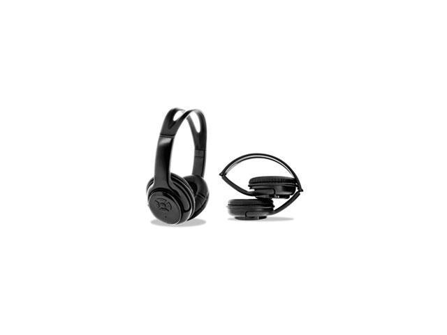 55bb0520cc6 BYTECH NY Bluetooth Headphones, Black - Newegg.com