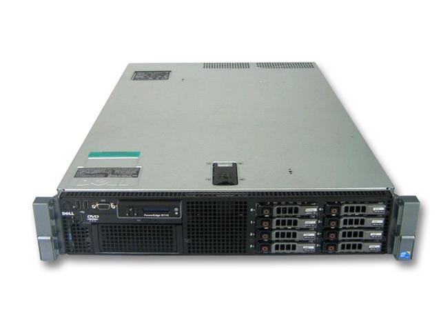 Refurbished: Dell R710 Server 2x X5687 2 4GHz 6-Core 144GB 8x 600GB 15K  H700 2x PSU - Newegg com