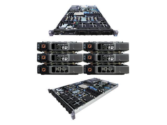 Refurbished: DELL PowerEdge R610 2 x 2 67Ghz X5550 Quad Core 24GB 6x 146GB  10K SAS 6iR Rails - Newegg com