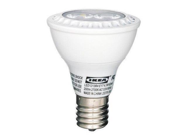 big sale 1981e e9b04 Ikea E17 Led Light Bulb R14 Reflector - Newegg.com