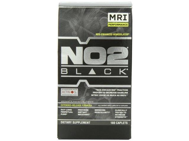 MRI NO2 Black 180 Cap Bottle
