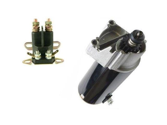 Starter Solenoid Kit For Briggs Stratton 14 16 18 Hp 497596 Air Cooled