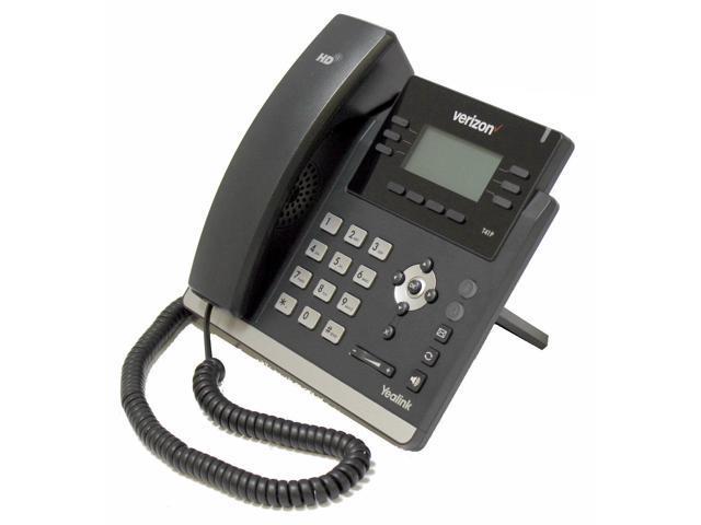 Verizon Yealink SIP-T41P Ultra-Elegant 6 Line 2 Port Ethernet 10/100 PoE  VoIP SIP Phone No External Power Supply - Newegg com