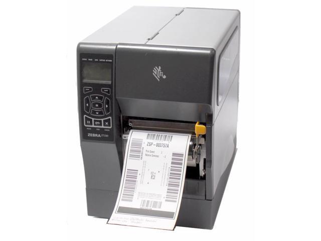 Refurbished: Zebra ZT UPS ZT230 123100-200 Direct Thermal Label Printer  Parallel Serial USB Peeler Rewinder - Newegg com