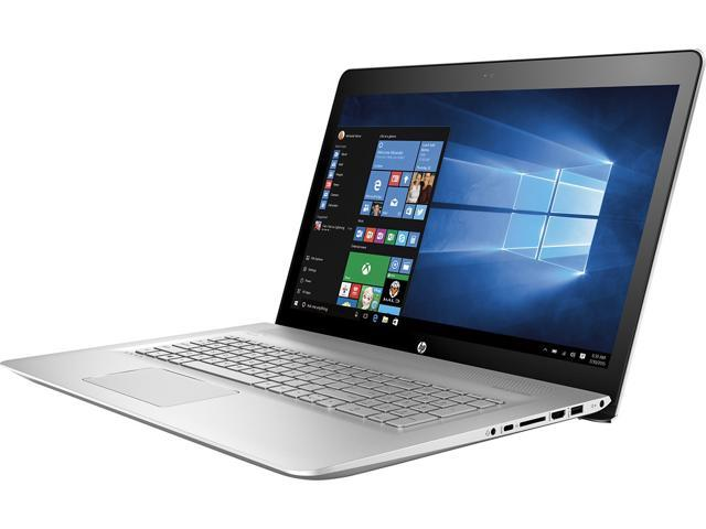 """HP - ENVY 17.3"""" Touch-Screen Laptop - Intel Core i7 - 16GB Memory - 1TB Hard Drive - Natural Silver Touchscreen Notebook PC Computer KABY LAKE M7-U109DX"""