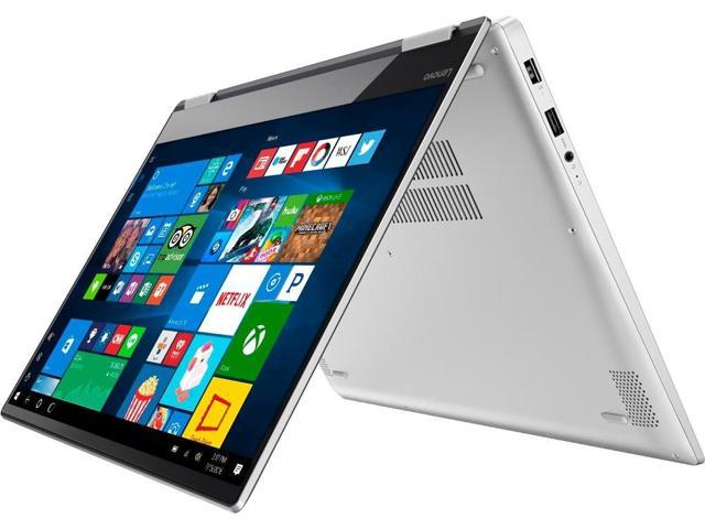 "Lenovo - Yoga 720 2-in-1 15.6"" 4K Ultra HD Touch-Screen Laptop - Intel Quad Core i7 - 16GB Memory - 512GB SSD - Platinum silver Notebook PC Computer 80X7001SUS Tablet"