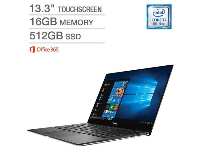 Dell XPS 13 XPS9370-7415SLV-PUS Touchscreen Laptop Notebook i7 8th Gen 4K  UHD Ultra HD 16GB Memory 512GB SSD with Office 365 - Newegg com