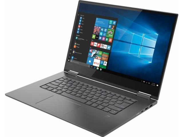 """Lenovo - Yoga 730 2-in-1 15.6"""" Touch-Screen Laptop - Intel Core i5 - 8GB Memory - 256GB Solid State Drive - Iron Gray 81CU000BUS Tablet Notebook Touchscreen PC Computer"""