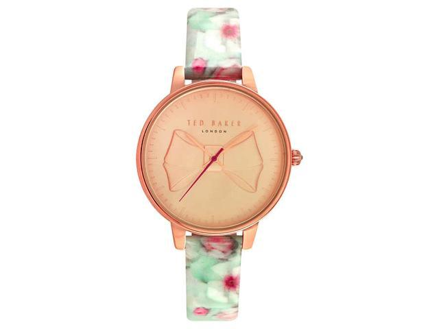 cde31deaecdb2 Ted Baker TE15197005 Rose Gold Tone Case Ladies Watch - Newegg.com