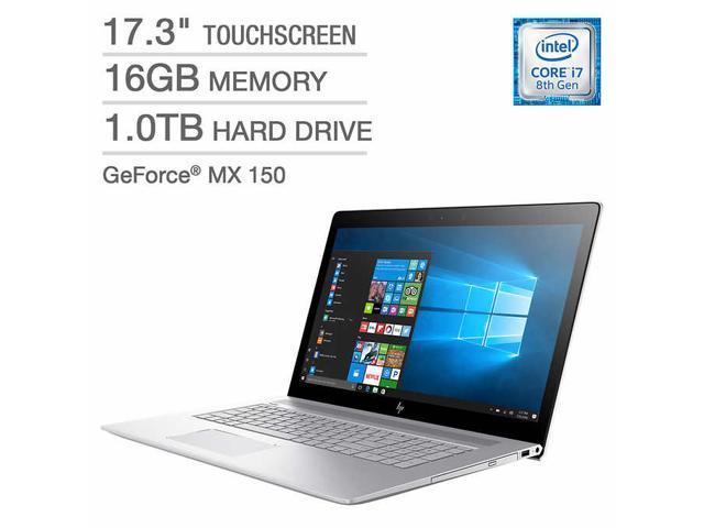 "HP ENVY 17"" Touchscreen Laptop - Intel Core i7 - GeForce MX150 - 1080p 17.3"" Touch Screen 16GB Memory 1TB Hard Drive GeForce Nvidia MX 150 17-ae105cl"