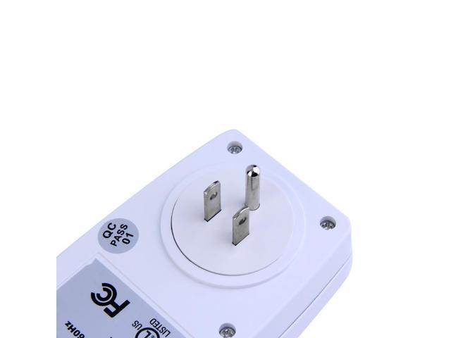 Wireless Remote Control AC Power Outlet US Plug Switch For Small Appliances  FF - Newegg com