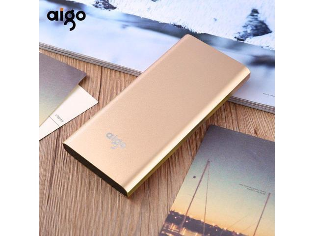 Gold 10000mAh High Capacity Portable Power Bank Charger Backup External  Battery Pack for Smartphones Tablet PC Dual USB Outputs Golden - Newegg com