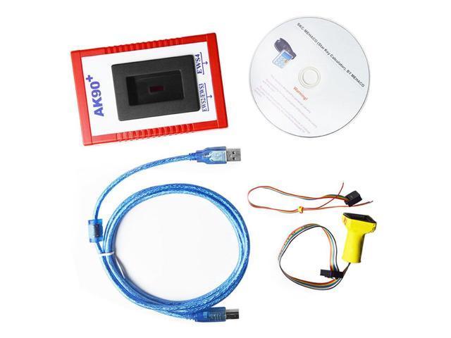 AK90 AK90+ Key Programmer Auto Code Scanner For BMW EWS Newest Version  V3 19 Professional Car Diagnostic Tool Car Fault Reader red & black -  Newegg ca