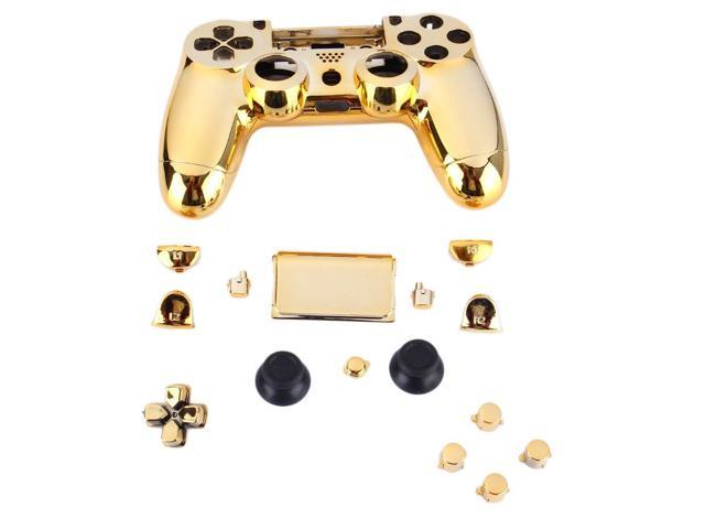 Gold Chrome Replacement Hydro Dipped Shell Mod Kit for PS4 Controller,Gold  - Newegg ca