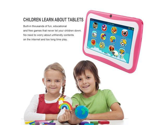 7 Inch Quad Core Children Learning Tablet PC 512MB RAM+8GB ROM for Android  4 4 blue - Newegg com