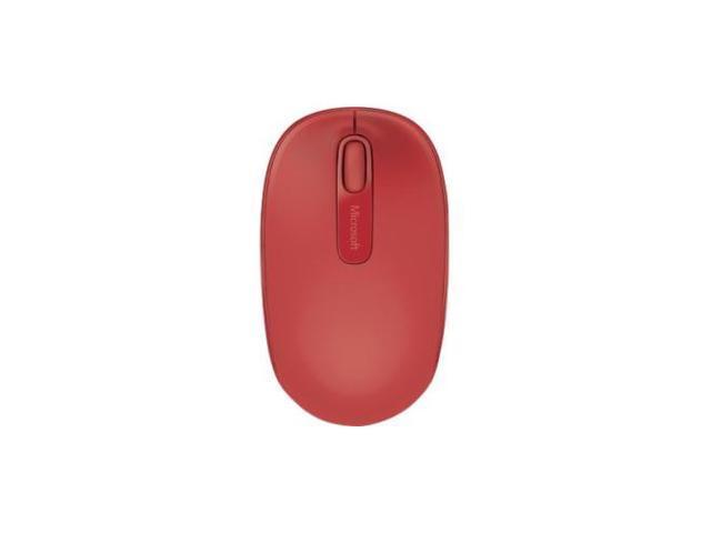 85f1945fe04 Microsoft 1850 U7Z-00031 Red RF Wireless Optical Mobile Mouse ...
