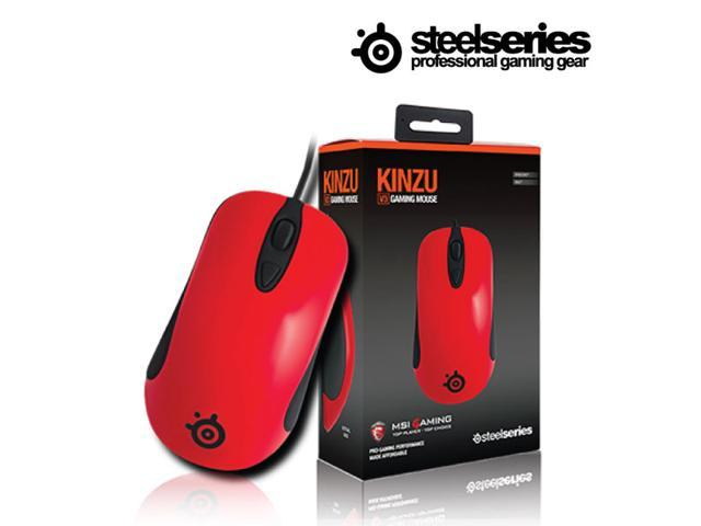 7508ff77503 STEELSERIES KINZU V3 Optical 4 Buttons Gaming Performance Mouse *Red -  Newegg.com