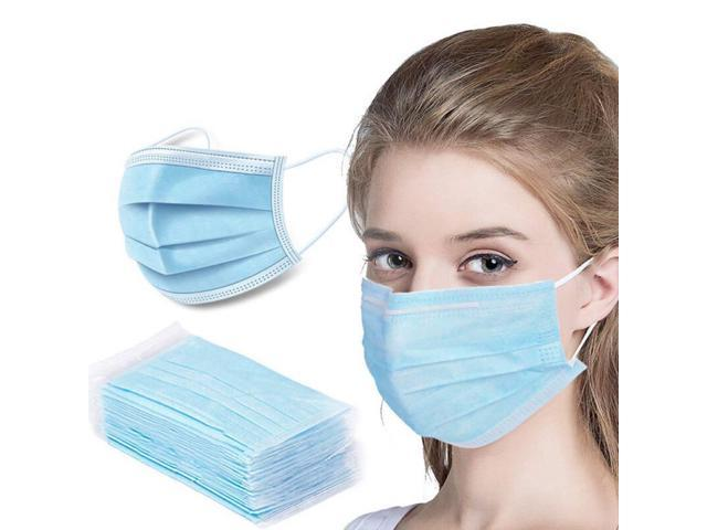 50PCS Medical Disposable Masks 3-Layers Protective Sterilized BFE 98% Filtration With CE PDA Certified Safety Mouth Mask