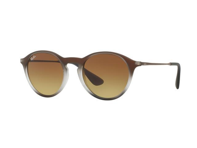 e75243b0363 Ray-Ban 0RB4243 Phantos Sunglasses for Unisex - Size - 49 (Light Brown  Gradient Brown)