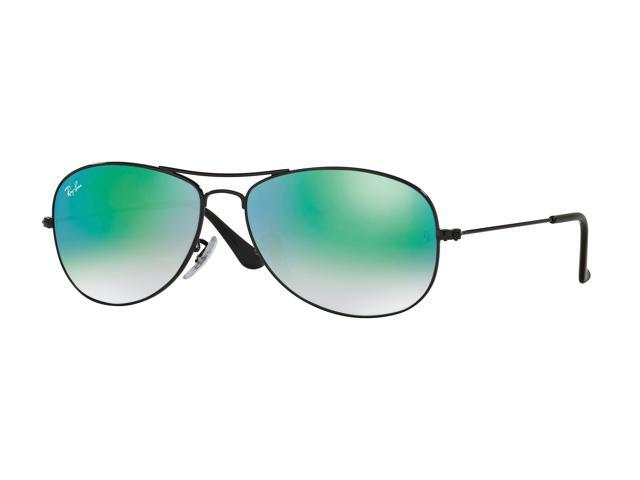dbc8ff7792a Ray-Ban RB3362 Cockpit Sunglasses for Mens - Size - 59 (Frame  Shiny