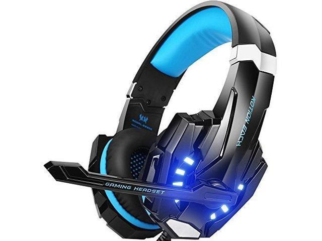 2ee700518c9 BENGOO G9000 Stereo Gaming Headset for PS4, PC, Xbox One Controller, Noise  Cancelling