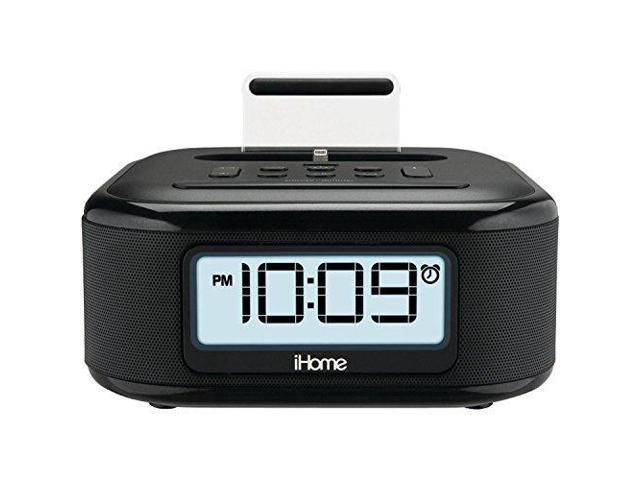 check out 90281 09ae2 iHome iPL23 Stereo FM Clock Radio with Lightning Dock Charge/Play for  iPhone 5/5S 6/6Plus 6S/6SPlus 7/7Plus - Newegg.com