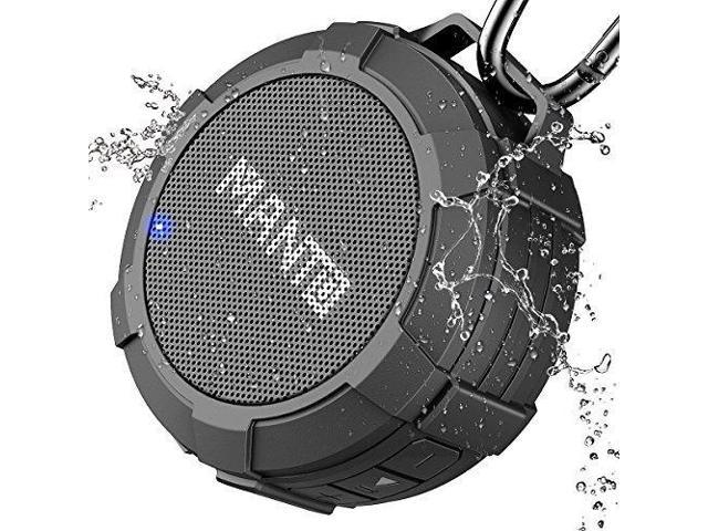 Beau Bluetooth Speaker MANTO Portable Wireless Mini Waterproof Stereo Sound  System For Shower, Outdoor Hiking,