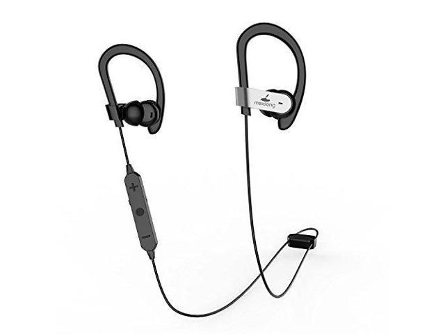 30e273b4599 Active Noise Cancelling Bluetooth Headphones, Meidong HE8C Ear buds In Ear  Earphones Sports Earbuds with