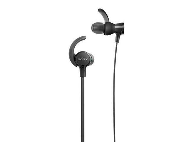 ea9f087a99d Sony Extra Bass Wired Headphones, Best Sports Headphones W/ Mic IPX5 Stereo Sweatproof  Earbuds
