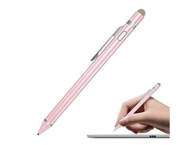 online retailer 8cef7 eb06d MoKo Universal Active Stylus, 2 in 1 High Precision Sensitivity 1.5mm  Capacitive Pen, Metal Stylus Pen for Touch Screen Devices Smartphones &  Tablets ...