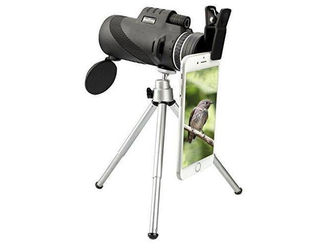 Cellphone camera zoom lens monocular kit in hd optical