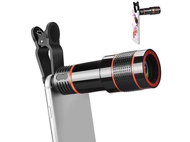 Aceyoon 12x telephoto lens cell phone universal optical zoom mobile