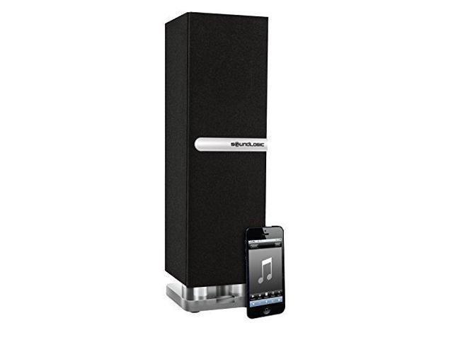 SoundLogic XT Wireless Bluetooth Mini Floor-Standing Tower Speaker, Black -  Newegg com
