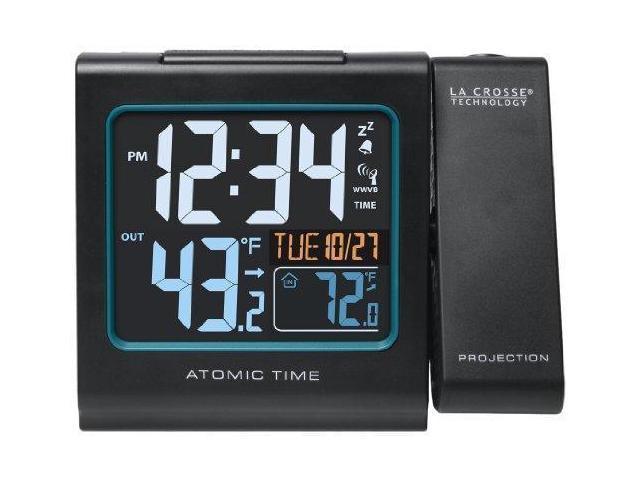 La Crosse Technology 616 146 Color Projection Alarm Clock With