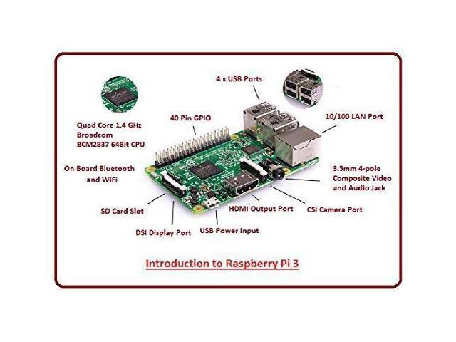 Computers & Accessories Motherboard Element14 Raspberry Pi 3 B