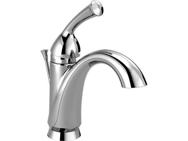 Delta Faucet 35999lf Haywood Polished Chrome Two Handle: Delta Haywood Single-Handle Bathroom Faucet With Diamond
