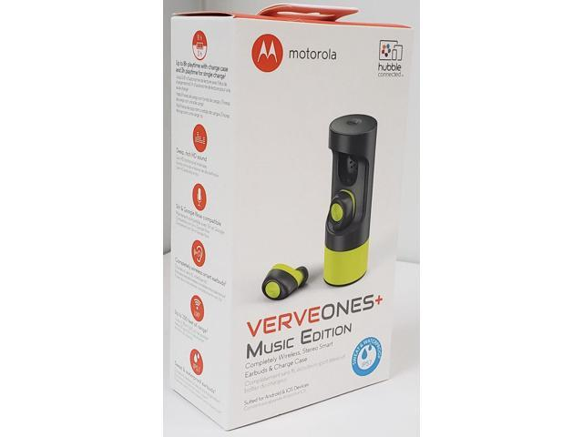 9a6669475bf Motorola SH010AL VerveOnes+ Music Edition Completely Wireless, Waterproof  Stereo Smart Earbuds - Green Lime