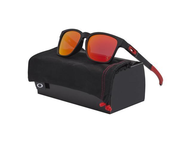 90f2593908f Oakley SCUDERIA FERRARI Catalyst Sunglasses OO9272-07 Matte Black   Ruby  Iridium